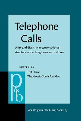 Telephone Calls: Unity and Diversity in Conversational Structure Across Languages and Cultures