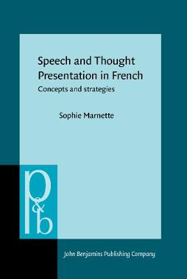 Speech and Thought Presentation in French: Concepts and strategies