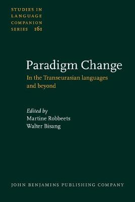 Paradigm Change: In the Transeurasian languages and beyond