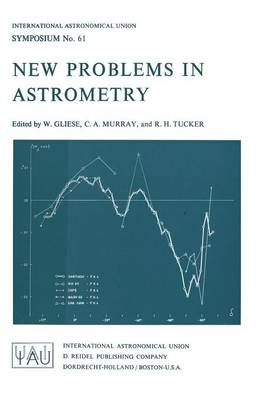 New Problems in Astrometry