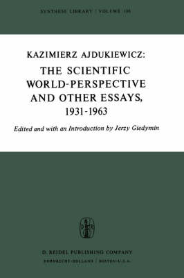 The Scientific World-Perspective and Other Essays, 1931-1963