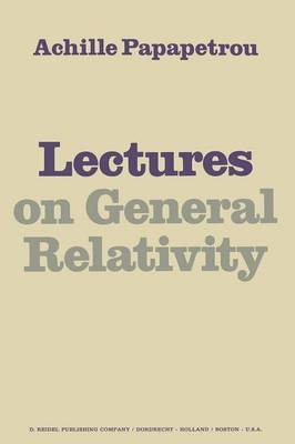 Lectures on General Relativity