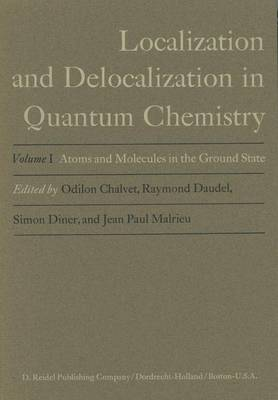Atoms and Molecules in the Ground State: v. 1: Atoms and Molecules in the Ground State