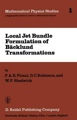 Local Jet Bundle Formulation of Backland Transformations: With Applications to Non-Linear Evolution Equations