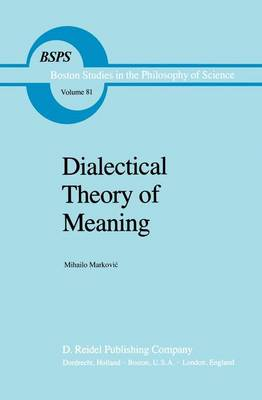 Dialectical Theory of Meaning