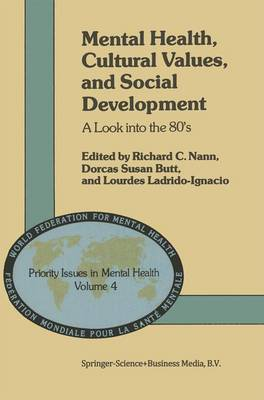 Mental Health, Cultural Values, and Social Development: A Look into the 80's