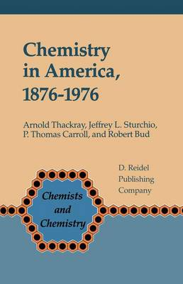Chemistry in America, 1876-1976: Historical Indicators