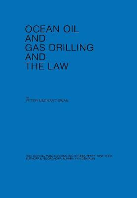 Ocean Oil and Gas Drilling and the Law