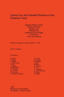 Labour Law and Industrial Relations in the European Union