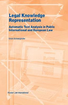 Legal Knowledge Representation: Automatic Text Analysis in Public International and European Law
