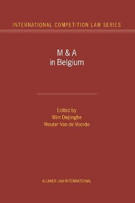 M and A in Belgium