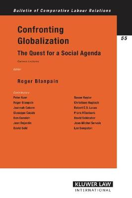 Confronting Globalization: The Quest for a Social Agenda (Geneva Lectures)