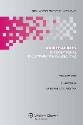 Arbitrability: International and Comparative Perspectives