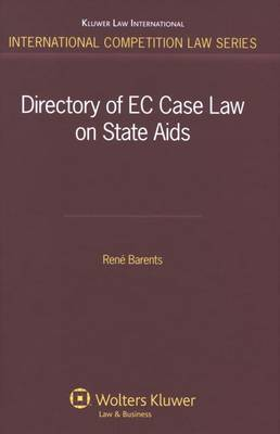 Directory of EC Case Law on State Aids