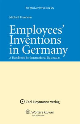 German Act on Employees' Inventions: A Handbook for International Business
