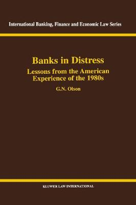 Banks in Distress: Lessons from the American Experience of the 1980's