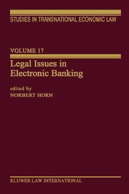 Legal Issues in Electronic Banking