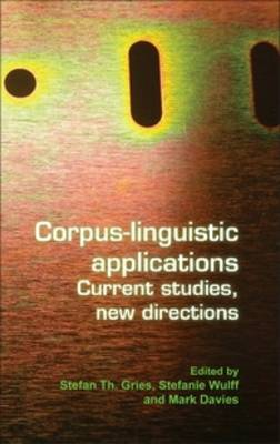 Corpus-linguistic applications: Current studies, new directions