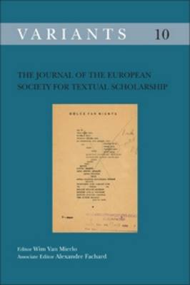 The Journal of the European Society for Textual Scholarship