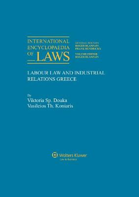 International Encyclopaedia of Laws: Labour Law and Industrial Relations: Supplement 305