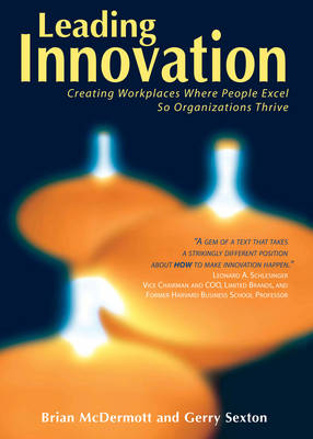 Leading Innovation: Creating Workplaces Where People Excel So Organizations Thrive