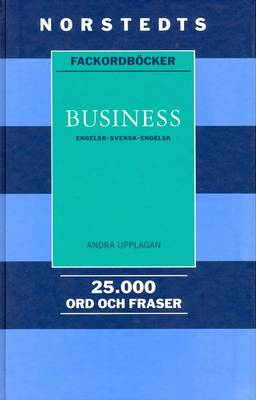 Norstedts Business English-English-Swedish Dictionary