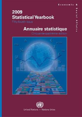 Statistical Yearbook: Fifty-fourth Issue, Data Available as of October 2010