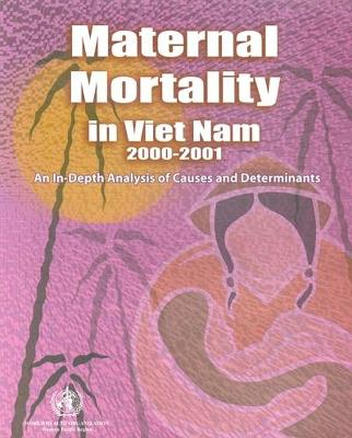 Maternal Mortality in Vietnam: An In-Depth Analysis of Causes and Determinants: 2000-2001