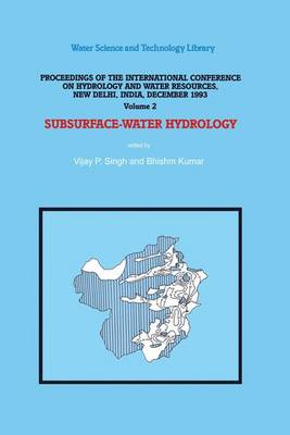 Subsurface-Water Hydrology: Proceedings