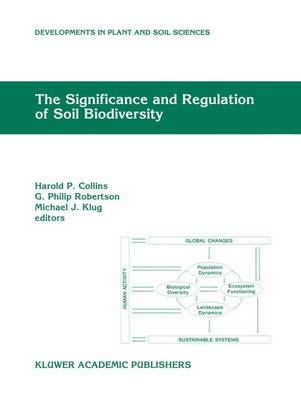 The Significance and Regulation of Soil Biodiversity: Proceedings of the International Symposium on Soil Biodiversity, held at Michigan State University, East Lansing, May 3-6, 1993