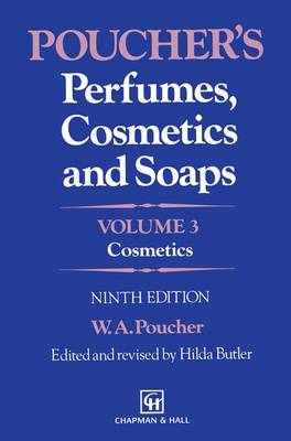 Poucher S Perfumes, Cosmetics and Soaps: Volume 3: Cosmetics