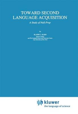 Toward Second Language Acquisition: A Study of Null-Prep