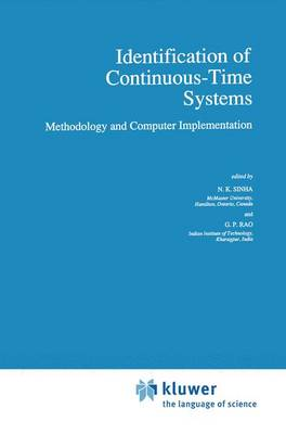 Identification of Continuous-Time Systems: Methodology and Computer Implementation