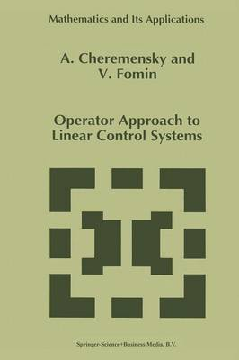 Operator Approach to Linear Control Systems