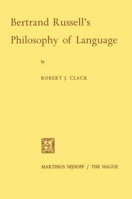 Bertrand Russell's Philosophy of Language