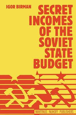 Secret Incomes of the Soviet State Budget