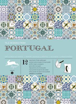 Tile Designs from Portugal: Gift & Creative Paper Book Vol. 56