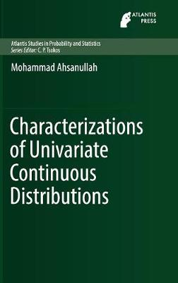 Characterizations of Univariate Continuous Distributions