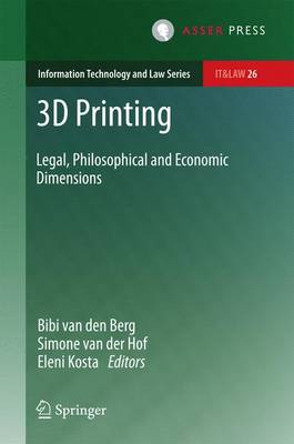 3D Printing: Legal, Philosophical and Economic Dimensions: 2016
