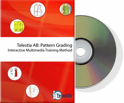 Pattern Grading Telestia Trainer: Training Software for Grading Clothing Patterns