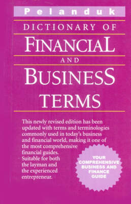 Dictionary of Financial and Business Terms