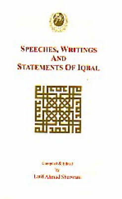 Writings, Speeches and Statements of Iqbal