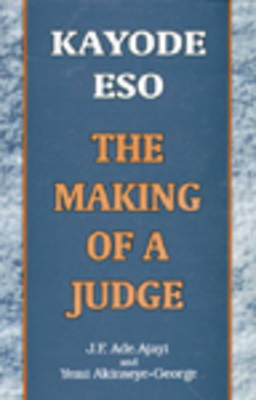 Kayode Eso: The Making of a Judge