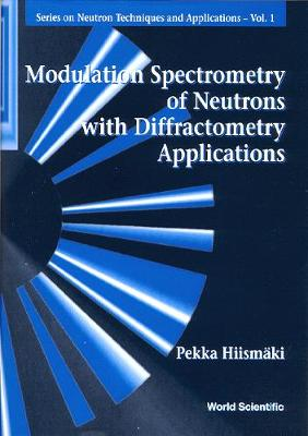 Modulation Spectrometry Of Neutrons With Diffractometry Applications