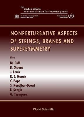 Nonperturbative Aspects Of Strings, Branes And Supersymmetry - Proceedings Of The Spring School On Nonperturba