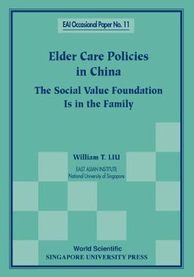 Elder Care Policies In China: The Social Value Foundation Is In The Family