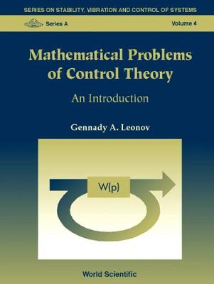 Mathematical Problems Of Control Theory: An Introduction