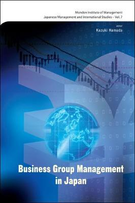 Business Group Management In Japan