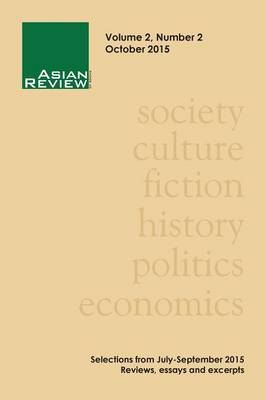 Asian Review of Books, Volume 2, Number 2: October 2015