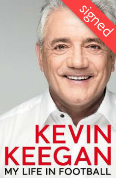 Signed Copy - Kevin Keegan: My Life in Football